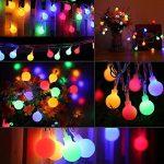 Innoo Tech Guirlande Lumineuse d'intérieur 100 LED boules, Longueur 10M, 8 Modes, Prise EU, Multicolore pour Mariage Fête Café Chambre Pâques Noël [Classe énergétique A+++] de la marque Innoo Tech image 3 produit