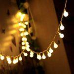 Innoo Tech - Guirlande lumineuse d'intérieur à LED - Globe de décoration - 10mètres de 100 ampoules blanc chaud CC 31V - Éclairage d'ambiance de la marque Innoo Tech image 1 produit