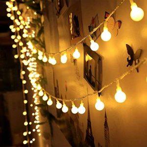 Innoo Tech - Guirlande lumineuse d'intérieur à LED - Globe de décoration - 10mètres de 100 ampoules blanc chaud CC 31V - Éclairage d'ambiance de la marque Innoo Tech image 0 produit