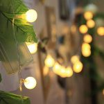 Innoo Tech - Guirlande lumineuse d'intérieur à LED - Globe de décoration - 10mètres de 100 ampoules blanc chaud CC 31V - Éclairage d'ambiance de la marque Innoo Tech image 3 produit