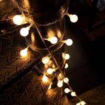 Innoo Tech - Guirlande lumineuse d'intérieur à LED - Globe de décoration - 10mètres de 100 ampoules blanc chaud CC 31V - Éclairage d'ambiance de la marque Innoo Tech image 4 produit