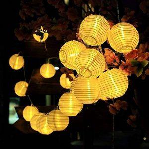 Innoo Tech Guirlande Solaire Exterieure, 30 Boules LED, Longeur 6M, 2 modes Guirlandes Lumineuses Solaires pour Maison Jardin Soirée Mariage Fête Noël [Classe énergétique A+++] (Blanc Chaud) de la marque Innoo Tech image 0 produit
