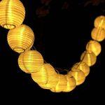 Innoo Tech Guirlande Solaire Exterieure, 30 Boules LED, Longeur 6M, 2 modes Guirlandes Lumineuses Solaires pour Maison Jardin Soirée Mariage Fête Noël [Classe énergétique A+++] (Blanc Chaud) de la marque Innoo Tech image 1 produit