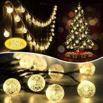 Innoo Tech Guirlande Solaire Exterieure, 30 LED boules, Longueur 4.5M, Eclairage Lampes Guirlandes Lumineuses Solaires Exterieure(Blanc chaud) [Classe énergétique A+++] [Classe énergétique A+++] de la marque Innoo Tech image 3 produit