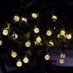 Innoo Tech Guirlande Solaire Exterieure, 30 LED boules, Longueur 4.5M, Eclairage Lampes Guirlandes Lumineuses Solaires Exterieure(Blanc chaud) [Classe énergétique A+++] [Classe énergétique A+++] de la marque Innoo Tech image 2 produit