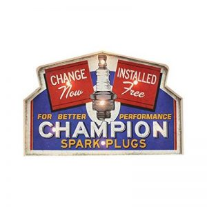 Insegna Luminosa in metallo Vintage CHAMPION de la marque E-line image 0 produit