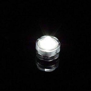 ipuis 20pcs Bougie LED étanche submersible lampe étanche Blanc waterproof (Blanche) de la marque IPUIS image 0 produit