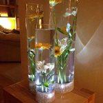 ipuis 20pcs Bougie LED étanche submersible lampe étanche Blanc waterproof (Blanche) de la marque IPUIS image 3 produit