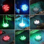 IPUIS Bougies LED Submersible Blanc/Vert/Bleu/Rouge/Rose/Couleurs Avec télécommande (1) de la marque IPUIS image 1 produit