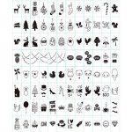 ISWEES Cinema Sign Avec 96 Noir + 85 Coloré Lettres, nombres, symboles et emojis pour la boîte cinématique de format A4 Spéciaux Décoratifs de la marque ISWEES image 1 produit