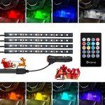 isYoung Ruban LED pour intérieur de voiture avec télécommande 12V de la marque isYoung image 1 produit