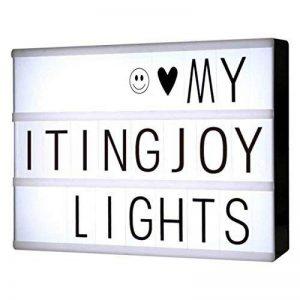 ITingjoy la libre association cinématographique boîte à lettres et led format a4 de la marque ITingjoy image 0 produit