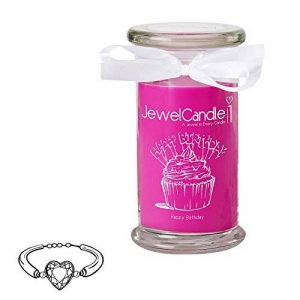 """JewelCandle """"Happy Birthday - Bougie Parfumée avec Bijou Surprise en Argent (Bracelet) de la marque JewelCandle image 0 produit"""