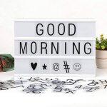 JIM'S STORE 96 Lettre Noire 85 Emoji Symbole Coloré pour A4 Boîte Lumineuse DIY Panneaux de Cinéma pour Accueil Fête Décoration & Éducation Précoce de la marque JIM'S STORE image 3 produit