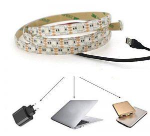 Jinda 2M Blanc chaud USB ruban led for Noël Nouvel An Party, 5V Etanche USB bandeau led pour Maison, Cuisine Éclairage de décoration de la marque Jinda image 0 produit