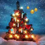 Jingrong Bougies LED Bougies Scintillantes Blanches Chaudes avec la Télécommande et Les Agrafes démontables pour L'arbre de Noël, Lustre, Bougies D'église, Décoration de Maison et de Partie(20PCS) de la marque Jingrong image 1 produit