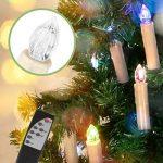 Jingrong Bougies LED Changement de couleur des bougies de pilier avec des modifications de lumière de fonction de minuterie (20pcs) de la marque Jingrong image 4 produit