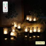 Jingrong Lot de 12 photophore mariage constellation phosphorescente photophore led de la marque Jingrong image 1 produit
