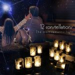 Jingrong Lot de 12 photophore mariage constellation phosphorescente photophore led de la marque Jingrong image 2 produit