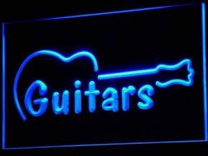 Jintora Neon Sign - Enseigne au Néon - Guitars Music - Guitares Musique - Fête, discothèque, Club, Bistro, Restaurant, Magasin de la marque Jintora image 0 produit