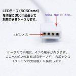 Kabenjee 4 Broches 1 à 4 Câble Séparateur Diviseur Connecteur à Ruban LED Splitter DC à 4 voies Y Splitter Cable Distributeur Répartiteur Pour SMD 5050 3528 2835 RGB LED Bandes Lumineuses avec 5x mâle 4 broches -30cm (2 pièce) de la marque Kabenjee image 4 produit