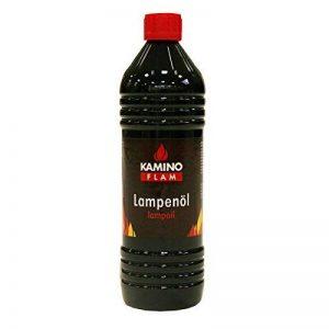 Kamino-Flam Huile de Paraffine, Paraffine Liquide pour Lampes, Huile à Lampe et Torche, Huile de Combustion Sans Odeur et Sans Couleur, Bouteille de 1 l de la marque Kamino - Flam image 0 produit