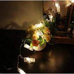 King Age LED Photo Clips Lumière Chaînes–40photo Clips 5m Batterie fonctionnant Éclairage d'ambiance décoration pour photo suspendu Memos oeuvres d'art de la marque cdsnxore® image 2 produit