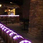 KINGCOO 100LED Ruban Lumineux Solaire Lampes de Corde, étanche 39ft 12M Fil de Cuivre Extérieur Tube Rope Guirlande Lumineuse pour Noël Jardin cour Chemin Clôture Arbre Backyard (Violet) de la marque KINGCOO image 4 produit