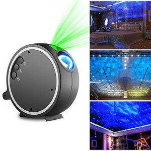 Kingtoys LED Lampe de Projection Lumière Projecteur Simulation des nuages,Lampe de étoile,Projection de Nuit Lumière de l'humeur pour Décoration des Chambres de la marque kingtoys image 0 produit