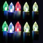 Kit de 10 Bougies Chandelle Electriques LED a Piles Remplacables avec Telecommande Sans flamme / Sans Cire pour Decoration de Maison / Mariage / Soiree / Fete de la marque Aoklea image 3 produit