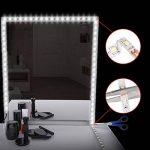 Kit de Ruban LED 4M avec Gradateur et Alimentation 12V, SMD 3528 240 LEDs, Bande Lumineuse Flexible pour Décoration d'éclairage Intérieur, Miroir de Maquillage(Miroir non Inclus) de la marque Electribrite image 2 produit
