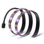 Kohree 2x50cm Rubans LED Flexible Bandeaux LED RGB Bande lumineuse Lumière Ambiance avec Contrôleur Télécommande Rétroéclairage pour Téléviseur Ecran Ordinateur 60leds/m de la marque Kohree image 1 produit