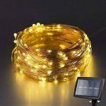 Kohree Guirlande Lumineuse LED solaire 120 LED 6M Guirlande Lumineuse d'éxterieur étanche IP45 Fil cuivre de la marque Kohree image 1 produit