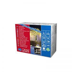 Konstsmide -3610-102 Guirlande lumineuse micro-LED Extérieur Lumière blanche chaude Transformateur extérieur 24V/2,4 W Câble noir 40 diodes de la marque Konstsmide image 0 produit