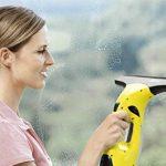 Kärcher 16334300 WV2 Premium jaune nettoyeur de vitres, avec raclette standard (largeur 280 mm et motif varié), raclette petits carreaux (largeur 170mm) de la marque Kärcher image 1 produit