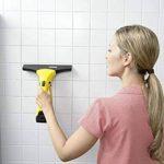 Kärcher 16334300 WV2 Premium jaune nettoyeur de vitres, avec raclette standard (largeur 280 mm et motif varié), raclette petits carreaux (largeur 170mm) de la marque Kärcher image 3 produit