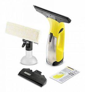 Kärcher 16334300 WV2 Premium jaune nettoyeur de vitres, avec raclette standard (largeur 280 mm et motif varié), raclette petits carreaux (largeur 170mm) de la marque Kärcher image 0 produit
