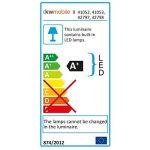 kwmobile Boîte lumineuse LED A4-7 changements de couleur 126 caractères noirs - Boîte à lumière personnalisable prise micro USB de la marque kwmobile image 4 produit
