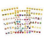 kwmobile Set de 126 emoji - Diapositives emoji couleur pour boîte à lumière cinéma A4 - Complément smiley symboles pour boite lumineuse LED de la marque kwmobile image 4 produit