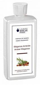 Lampe Berger 115305 Recharge parfum de maison pour lampe à parfum Elégance Ambrée 500 ml de la marque Lampe Berger image 0 produit