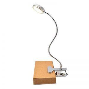 Lampe Clipsable Lecture Liseuse Led - GreeSuit agrafe sur la lampe de veilleuse lampe pince flexible réglable de col de cygne pour le bureau de lecture, la tête de lit et les ordinateurs de la marque GreeSuit image 0 produit
