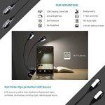lampe de lecture flexible led TOP 1 image 1 produit