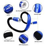 Lampe de Lecture Rechargeable Lampe de Nuit autour de Cou Mains Libres avec 3 Niveaux de Luminosité Réglable- Câble USB Inclus de la marque Topnma image 3 produit