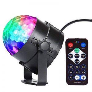 Lampe de Scène | Jeux de Lumière 5W 240V | Innoo Light Boule à Facette Disco | Partylight de 7 Couleurs RGB | Lumière d'Ambiance pour Fête, Soirée, Mariage, Anniversaire, Club, Bar, Scène, KTV etc. de la marque Innoo Tech image 0 produit
