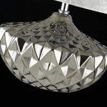 Lampe de table moderne, chromefarbene Céramique, abat-jour en velours, excl. argentée E2740W non, 220–240V de la marque MAYTONI DECORATIVE LIGHTING image 4 produit