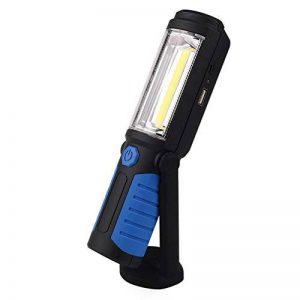 Lampe de Travail led Rechargeable Avec Magnétique Lampe de Torches de LED Lampe D'inspection Sans Fil de COB Batterie de 2200mAh Pour l'extérieur de Camping Atelier D'urgences Garage (Bleu) de la marque Dealbay image 0 produit