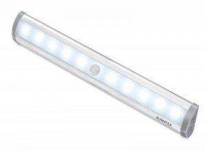 Lampe Led Pile AVANTEK ELF-L1 Lampe Détecteur de Mouvement Veilleuse 10 LED à Pile avec Bande Magnétique, Lampe Led Capteur Pour Placard, Escalier, Tiroir, Garage, Cusine, Salle de Bain Coin de la marque AVANTEK image 0 produit