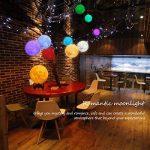 Lampe Lune 3D, Veilleuse LED Lampe Lune 15CM avec Télécommande, Lampe de nuit RGB Moonlight avec Interrupteur Tactile Gradable à Piles, avec Minuterie, USB Rechargeable de la marque GEEDIAR image 1 produit
