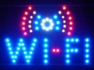 LAMPE NEON ENSEIGNE LUMINEUSE LED led019-b Wi-Fi Internet Cafe Bar LED Neon Light Sign de la marque AdvPro LED image 0 produit