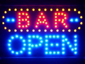 LAMPE NEON ENSEIGNE LUMINEUSE LED led072-b BAR OPEN LED Neon Sign WhiteBoard de la marque AdvPro LED image 0 produit
